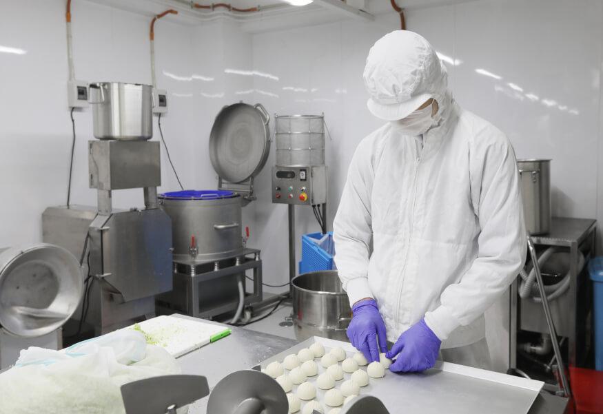食品工場の写真1