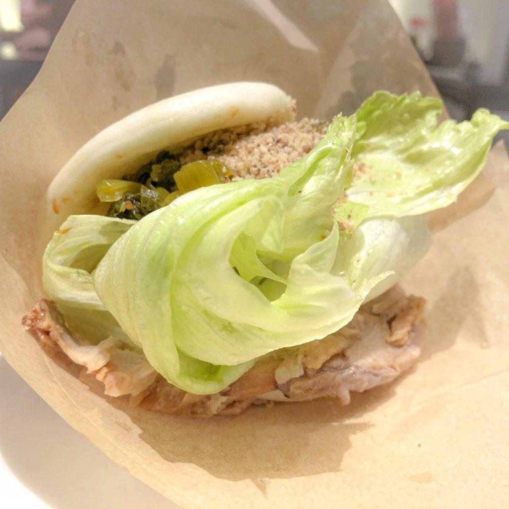 台湾ソウルフード「中華サンド・刈包(グヮバオ)」野菜タップリの臺瓏バージョン!の写真